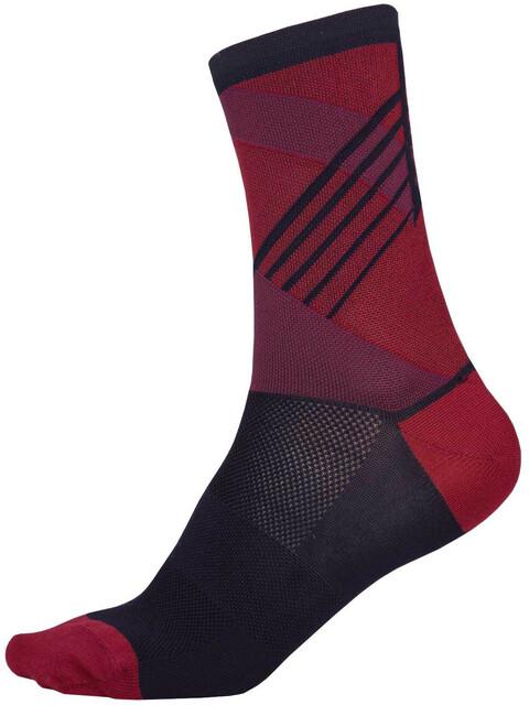 Endura SingleTrack Sokker rød/Blå
